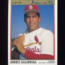 1992 O-Pee-Chee Premier Baseball #191 Andres Galarraga - St. Louis Cardinals