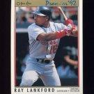 1992 O-Pee-Chee Premier Baseball #148 Ray Lankford - St. Louis Cardinals