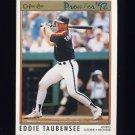 1992 O-Pee-Chee Premier Baseball #136 Eddie Taubensee - Houston Astros