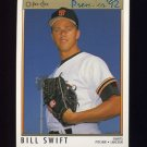 1992 O-Pee-Chee Premier Baseball #133 Bill Swift - San Francisco Giants