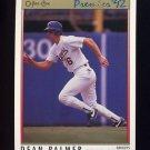 1992 O-Pee-Chee Premier Baseball #112 Dean Palmer - Texas Rangers