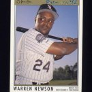 1992 O-Pee-Chee Premier Baseball #076 Warren Newson - Chicago White Sox