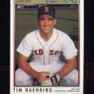 1992 O-Pee-Chee Premier Baseball #037 Tim Naehring - Boston Red Sox