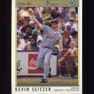 1992 O-Pee-Chee Premier Baseball #027 Kevin Seitzer - Milwaukee Brewers