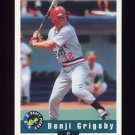 1992 Classic Draft Picks Baseball #015 Benji Grigsby - Oakland Athletics
