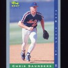 1993 Classic / Best Baseball #021 Chris Saunders - St. Lucie Mets