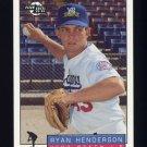 1993-94 Excel Baseball #214 Ryan Henderson - Los Angeles Dodgers