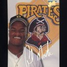 1993 Studio Baseball #159 Al Martin - Pittsburgh Pirates