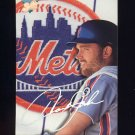 1993 Studio Baseball #128 Howard Johnson - New York Mets