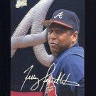 1993 Studio Baseball #117 Terry Pendleton - Atlanta Braves