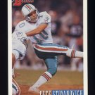 1993 Bowman Football #339 Pete Stoyanovich - Miami Dolphins