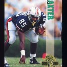 1993 Classic Four Sport Football #124 Fred Baxter