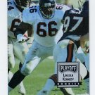 1993 Playoff Contenders Football #144 Lincoln Kennedy RC - Atlanta Falcons