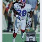 1993 Playoff Contenders Football #142 Thomas Smith RC - Buffalo Bills