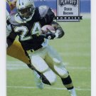 1993 Playoff Contenders Football #115 Derek Brown RC - New Orleans Saints