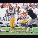 1998 Fleer Tradition Football #072 Eddie Kennison - St. Louis Rams