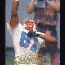 1998 Fleer Tradition Football #067 Chris Sanders - Tennessee Oilers