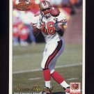1997 Pacific Philadelphia Football #285 Sean Manuel - San Francisco 49ers