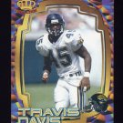 1997 Pacific Dynagon Best Kept Secrets #065 Travis Davis - Jacksonville Jaguars