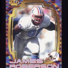 1997 Pacific Dynagon Best Kept Secrets #063 James Roberson - Tennessee Oilers