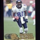1997 Pacific Football #036 Michael Jackson - Baltimore Ravens