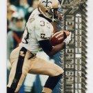1996 Topps Laser Football #051 Tyrone Hughes - New Orleans Saints