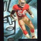 1996 Topps Gilt Edge Football #45 Lee Woodall - San Francisco 49ers