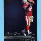 1996 Pinnacle Foil #194 Brent Jones - San Francisco 49ers