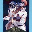 1996 Pinnacle Foil #039 Terance Mathis - Atlanta Falcons