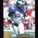 1996 Pacific Football #342 William Thomas - Philadelphia Eagles