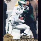 1996 Pacific Football #339 Chris T. Jones - Philadelphia Eagles