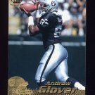 1996 Pacific Football #319 Andrew Glover - Oakland Raiders