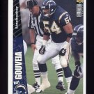 1996 Collector's Choice Update Football #U176 Kurt Gouveia - San Diego Chargers
