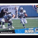 1996 Collector's Choice Update Football #U093 Winslow Oliver - Carolina Panthers