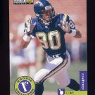 1996 Collector's Choice Update Football #U026 Bryan Still RC - San Diego Chargers