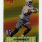 1995 Sportflix Football #129 Frank Sanders RC - Arizona Cardinals