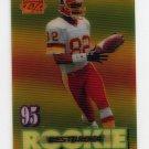 1995 Sportflix Football #121 Michael Westbrook RC - Washington Redskins
