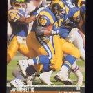 1995 Pro Line Football #303 Jerome Bettis - St. Louis Rams