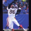 1995 Pro Line Football #033 Darnay Scott - Cincinnati Bengals