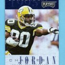 1995 Playoff Contenders Football #099 Charles Jordan RC - Green Bay Packers
