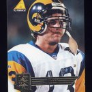 1995 Pinnacle Club Collection Football #155 Chris Miller - St. Louis Rams