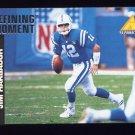 1995 Pinnacle Club Collection Football #108 Jim Harbaugh - Indianapolis Colts