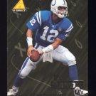 1995 Pinnacle Club Collection Football #106 Jim Harbaugh - Indianapolis Colts