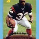 1995 Pinnacle Football #209 Ki-Jana Carter RC - Cincinnati Bengals