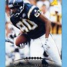 1995 Pinnacle Football #125 Shawn Jefferson - San Diego Chargers