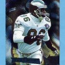 1995 Metal Football #144 Fred Barnett - Philadelphia Eagles