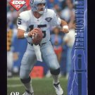 1995 Excalibur Football #037 Jeff Hostetler - Oakland Raiders