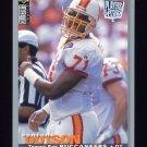 1995 Collector's Choice Player's Club #326 Santana Dotson - Tampa Bay Buccaneers
