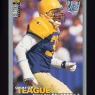 1995 Collector's Choice Player's Club #241 George Teague - Green Bay Packers