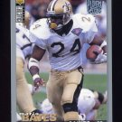 1995 Collector's Choice Player's Club #215 Mario Bates - New Orleans Saints